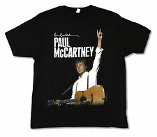 "PAUL McCARTNEY ""MONTREAL EVENT 2011"" BLACK BAND MUSIC T-SHIRT NEW OFFICIAL ADULT"