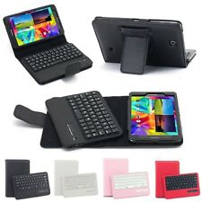 """Bluetooth Wireless Keyboard Leather Cases Stand For Samsung Galaxy Tab 4 T330 8"""""""