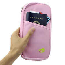 2015 Travel Bag ID Credit Card Pouch Passport Wallet Cash Holder Case Box Purse
