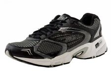 Fila Men's Swerve 2 Black/Silver Leather/Mesh Running Sneakers Shoes