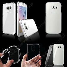Ultra Thin Transparent Soft Silicone Gel Case Cover For Samsung Galaxy Phones