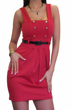 Ladies Dress Office Work Womens Party Pencil BodyCon Mini Skirt Size 8 10 12 14