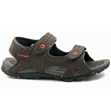 MENS HI-TEC SPORTS ADVENTURE SANDALS SIZE UK 7 - 12 DARK CHOCOLATE OWAKA