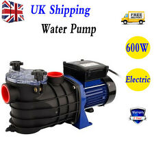 New Swimming Pool Pump Electric Strainer Filter Pump for Ground Pool Water Spa
