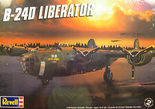 REVELL 1:48 SCALE WWII B-24D LIBERATOR 4-ENGINE BOMBER PLASTIC MODEL KIT