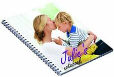 Personalised Note Book Printed With Your Own Image Or Design
