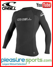ONeill Skins Basic Rashguard Long Sleeve 50+ UV Protection Sun Shirt BEST SELLER