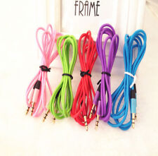 3.5MM Stereo Audio Aux Headphone Cable Extension Cord for iPhone iPod MP3 HS