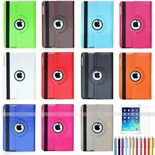 360 Rotating PU leather smart Case with stand For Apple iPad Mini Air 2 3 4 5 6