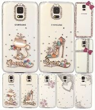 New Fashion Crystal Pattern Phone Hard Case Cover For Samsung Galaxy S5 G9008