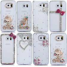 Fashion Design Bling Shine Crystal Diamond Phone Case Cover for Samsung S6 G9200