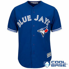Toronto Blue Jays Majestic Official Cool Base Jersey - Royal - MLB