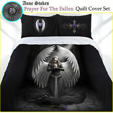 Anne Stokes Prayer For The Fallen Gothic Quilt Doona Cover Set DOUBLE QUEEN KING