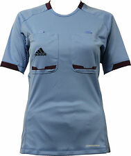 adidas Ladies Referee 12 Referee Jersey Referee Jersey Shirt short sleeve blue