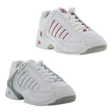 K Swiss Defier RS Womens White Leather Trainers Tennis Shoes Size UK 4-8