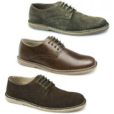 Red Tape MOJAVE Mens Suede Casual Comfy Leather Lace-Up Padded Desert Shoes