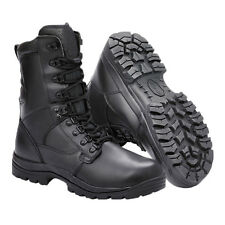 Mens Magnum Elite II Black Leather Waterproof Tactical Combat 20.3cm Boots Size