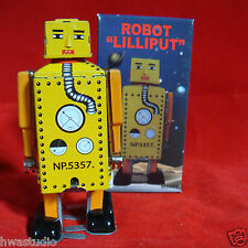 MS651 Vintage Robot Lilliput NEW MODEL Toy Wind Up Action Retro Adult Collec