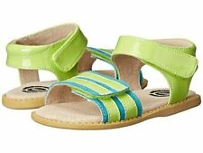NIB LIVIE & LUCA Shoes Sandals Taffy Green Apple Lime Green Blue 8 9