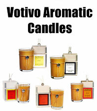 Votivo Multi-Scent Aromatic Candles - Red Currant Honeysuckle Teak Pink Mimosa