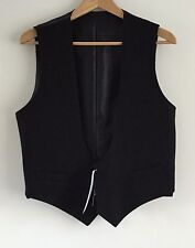 Mercians Mess Dress Waistcoat, Black Bib, Army, Military, Buttons Mercian