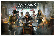 Assassins Creed Syndicate Pub Poster New - Maxi Size 36 x 24 Inch