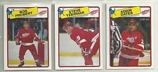 1988-89 O-PEE-CHEE Hockey Detroit Red Wings 14-card Team Set  Steve Yzerman