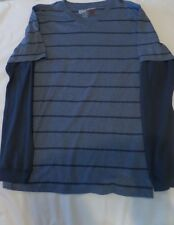 Large Boys Long Sleeved V-Neck knit Shirt, Size XL, by Overdrive, NWT