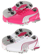 Puma PG Royal Tee Performance Waterproof Leather Womens Golf Spikes Shoes