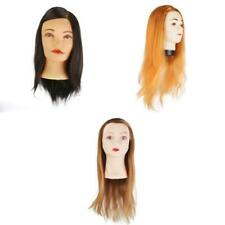 PRO Salon Cosmetology Practice Training Head Hairdressing Hair Mannequin Model