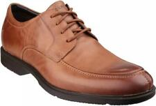 Rockport CITY SMART ALGONQUIN Mens Smart Casual Office Leather Lace Shoes Tan
