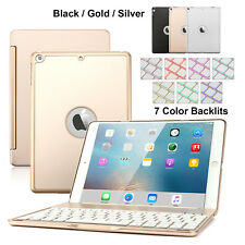 Aluminum Wireless Bluetooth Keyboard Smart Cover Case For iPad Air/iPad 5th Gen