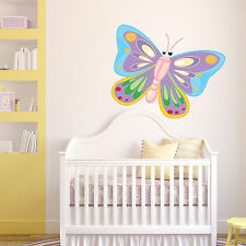 Giant Butterfly Wall Sticker Bug Full Colour Decal Transfer Mural Girls Bedroom