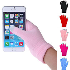Woman/Man Touch Screen Gloves Knitted Gloves Hand Wrist Warmer Finger Winter