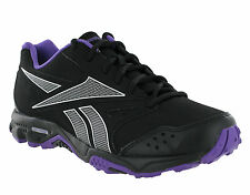 New Womens Reebok Walk XC Black Cushioned Running Walking Trainers Size 4-8 UK