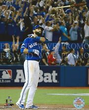 Jose Bautista 3 Home Run TORONTO BLUE JAYS MLB LICENSED 8X10 Baseball PHOTO