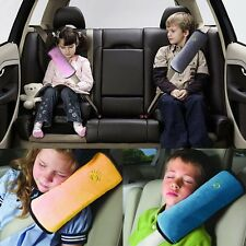 Auto Safety Pillow Cushion Strap Car Seat Belts Protect Shoulder For Child Kids