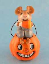 LIL JACK O'LANTERN by Wee Forest Folk, WFF# TM-3, Tiny Mice Series