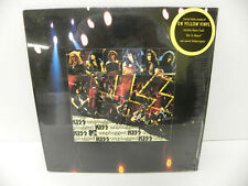 KISS-MTV UNPLUGGED-YELLOW VINYL 2 Lp and POSTER - SEALED