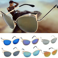 Woman's Classic Retro Fashion Cat Eye Sunglasses Charming Shades Vintage Glasses