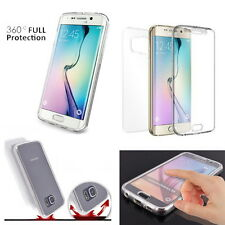 Dual Full Cover Full Body Protection Clear Case Cover For iPhone Galaxy LG