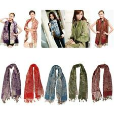 Ladies Womens Long Soft Cashmere Scarf Wrap Large Winter Shawl Stole Scarves