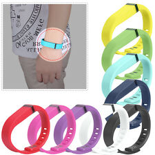 Brand New Replacement Wrist Band Wristband for Fitbit Flex with Clasps X10
