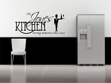 Personalised Wall Sticker Kitchen Quote Decorative Mural Decal Vinyl Sticker