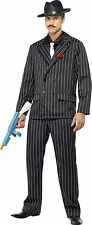 Mens Zoot Suit Gangster Costume 20's Fancy Dress ALL SIZES