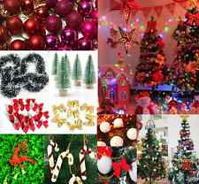 Christmas Party Ornaments Snowball bow deer Xmas Tree Hanging baubles Decoration