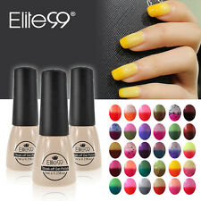 Elite99 Thermal Colour Change Soak Off Nail Lacquer Gel Polish UV LED Manicure
