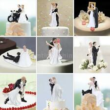 High Quality Bride & Groom Wedding Cake Topper Adorable Figurine Craft Gift JD31