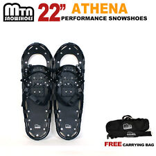 "New MTN Man Woman Kid Teen up to 155 lbs Free Bag 22"" Snowshoes-choose"