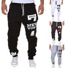 Men's Casual Jogging Training Sweat Pants Sports Gym Harem Trousers